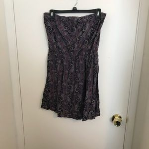 EUC Full Tilt strapless dress size XL